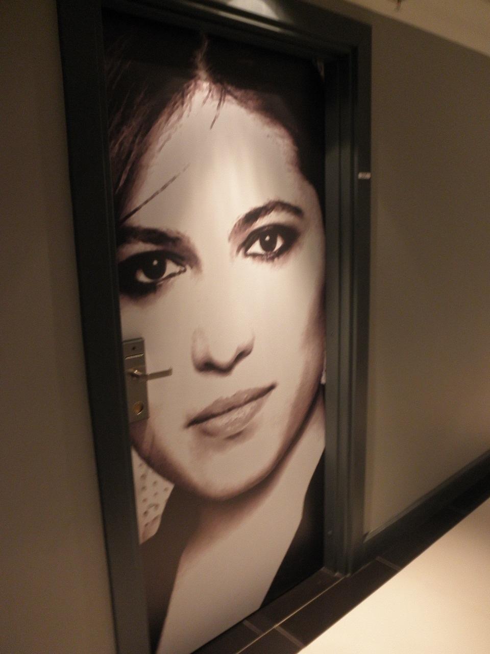 ROOM DOOR @ FASHION HAUS HOTEL MIAMI